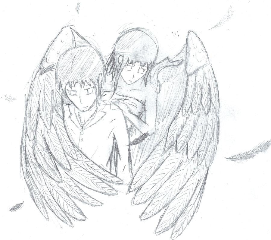 900x796 My Guardian Angel By Squigyxd