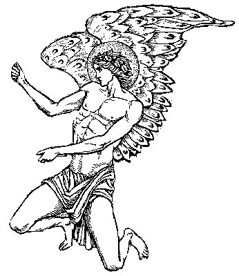 Male guardian angel drawing at free for for Guardian angel prayer coloring page