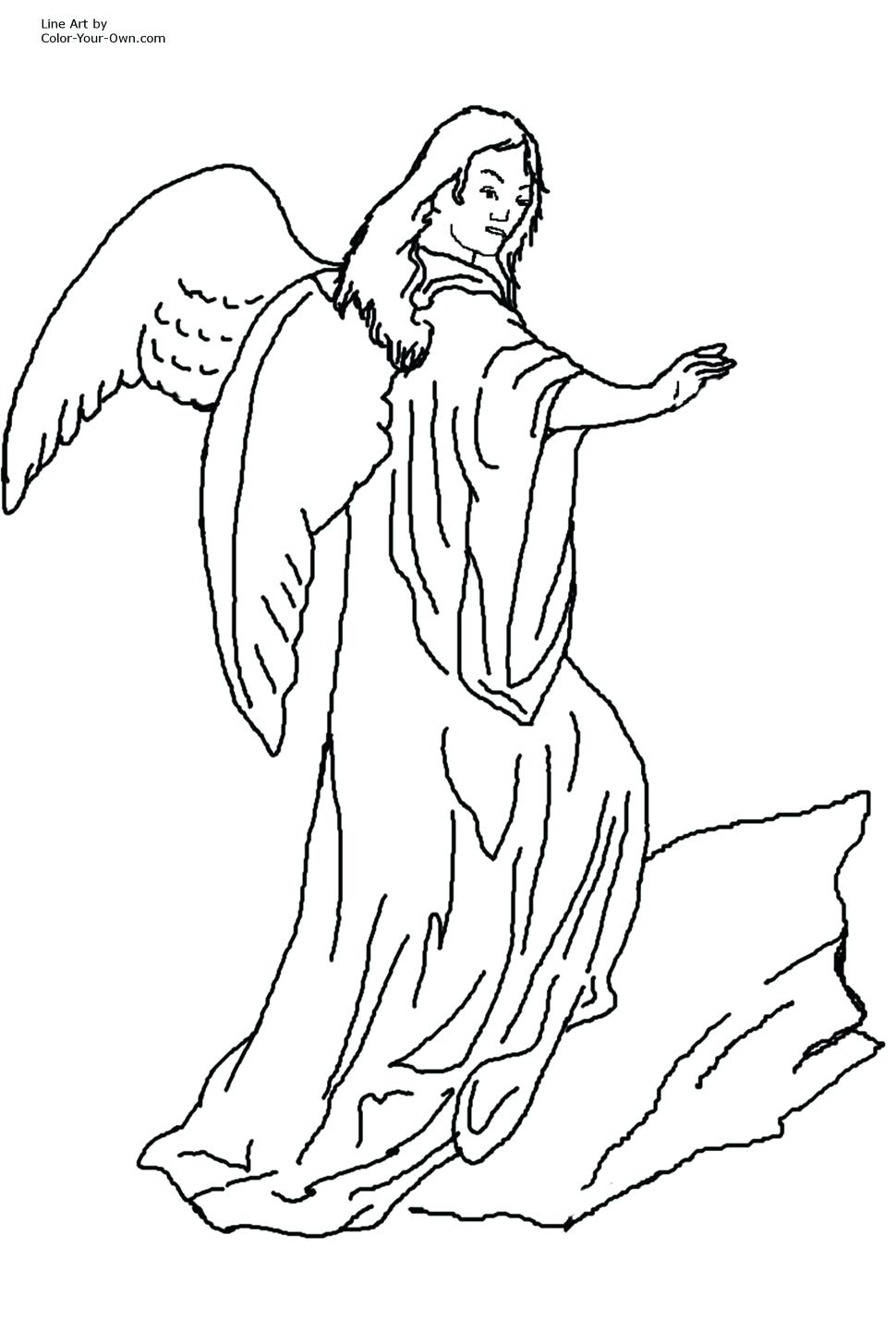 970x1455 Coloring Guardian Angel Coloring Pages