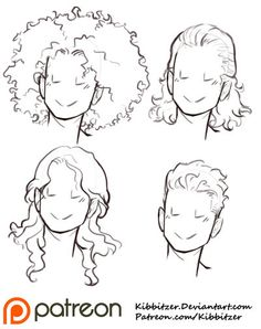 236x298 Collections Of Anime Curly Hair Tutorial,