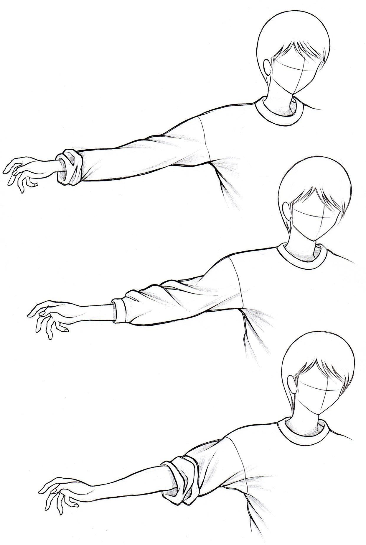 1242x1847 How To Draw Anime