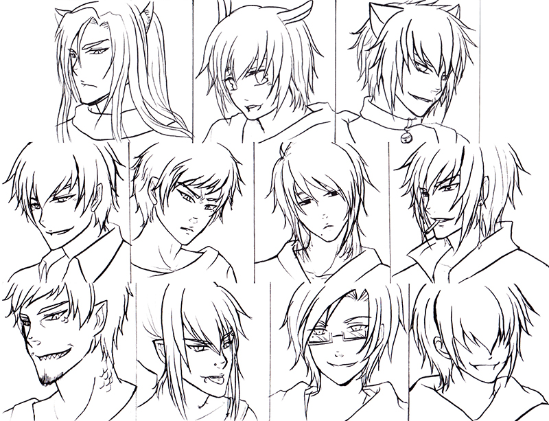 800x613 Model Hairstyles For Anime Guy Hairstyle Best Ideas About Anime