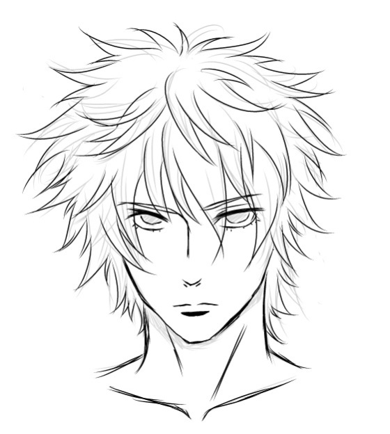 560x624 Manga Male Expressions