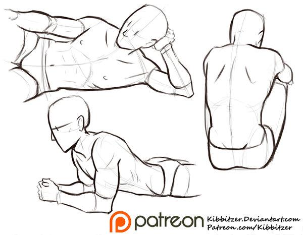 600x466 Learn Manga Male Anatomy V1 By Naschi