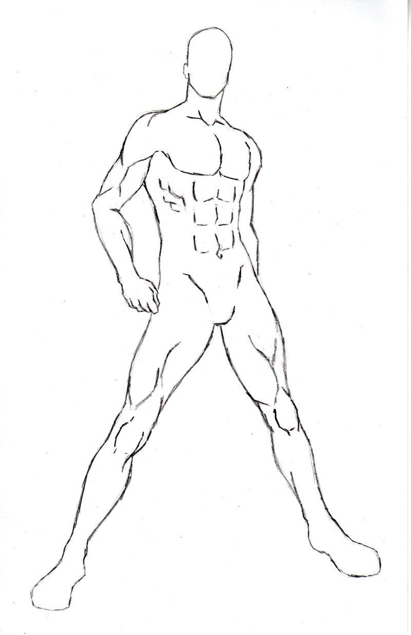 800x1236 Male Character Pose 6 Bye With No Color