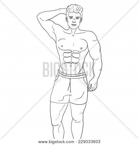 450x470 Male Model Images, Illustrations, Vectors