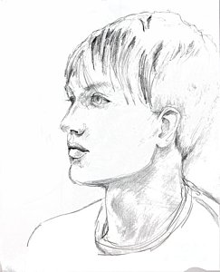 243x300 Male Model Drawings