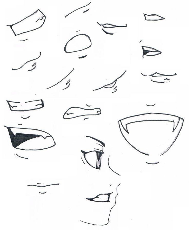 736x896 The Best Manga Mouth Ideas On Mouth Drawing, Manga