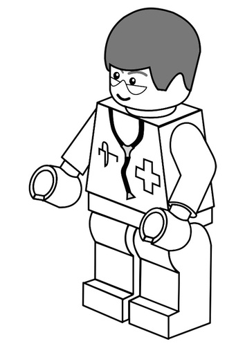Male Nurse Drawing
