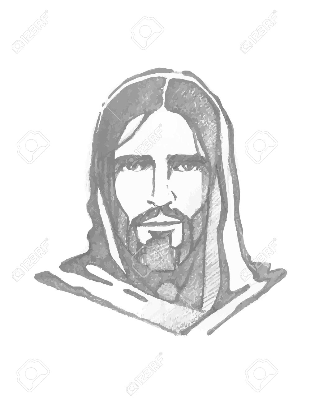 1040x1300 Jesus Face Stock Photos. Royalty Free Business Images