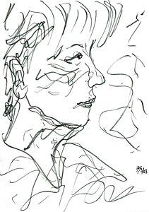 211x300 Male Profile Drawings
