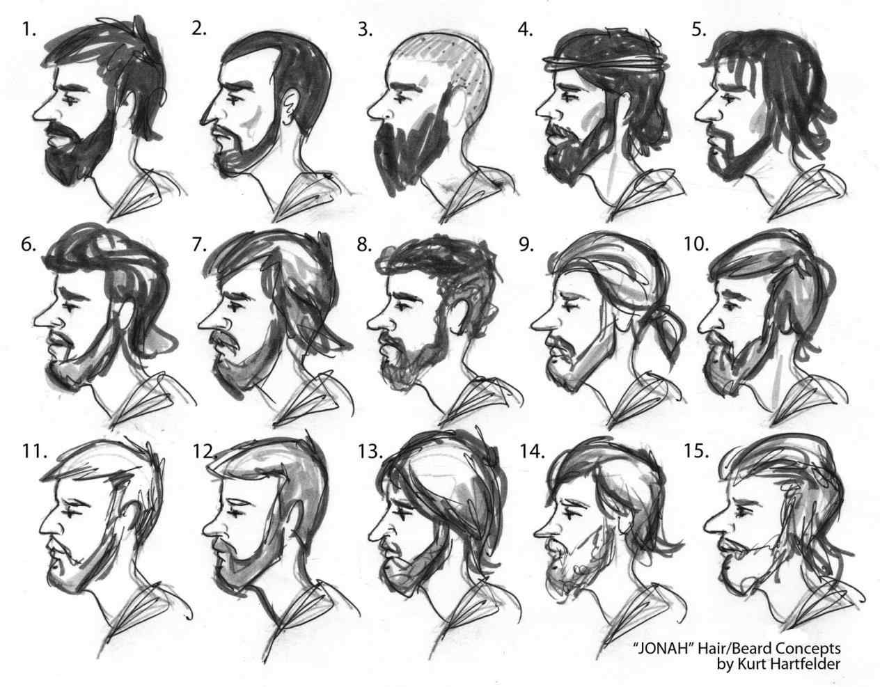 1264x987 A Face From The Side Profile View Man Easy How Hairstyle For Men