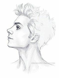 236x311 Easy Drawing Of A Boy Art Projectsideas Easy