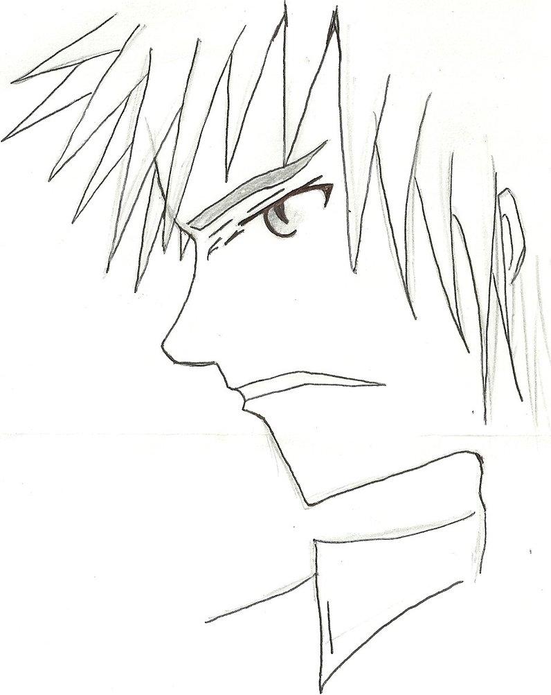 796x1003 First Male Face Profile (Manga) By Draversx