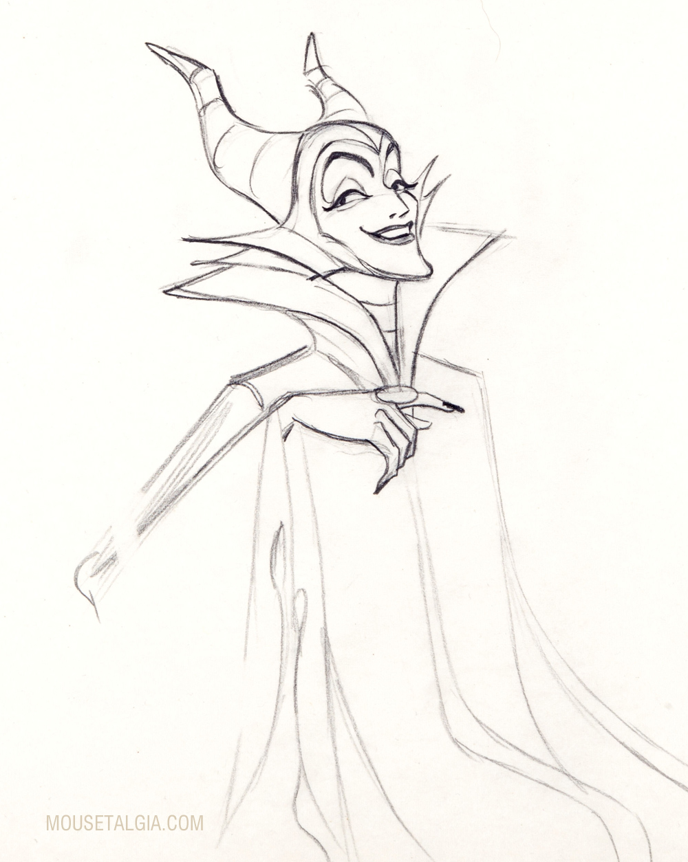 1000x1254 Maleficent The Art Of Marc Davis, One Of The Disney's Nine Old