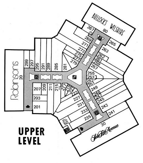 562x640 8 Best Mall Maps Images On Mall, Southern California