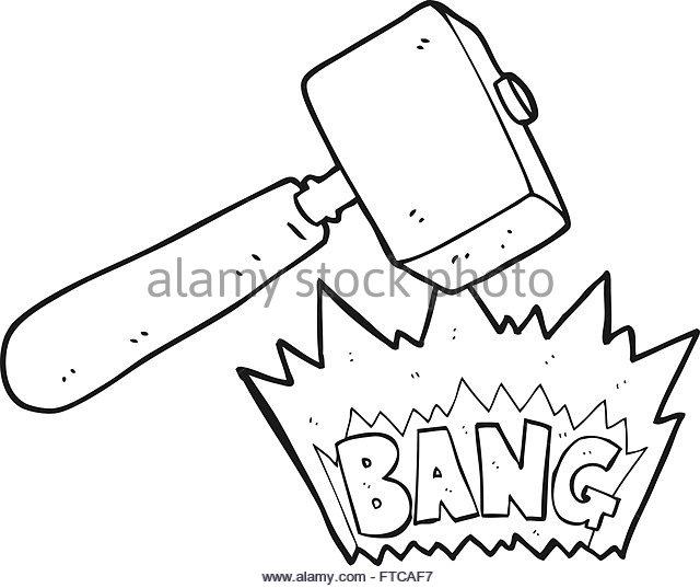 640x537 Freehand Drawn Cartoon Mallet Stock Photos Amp Freehand Drawn