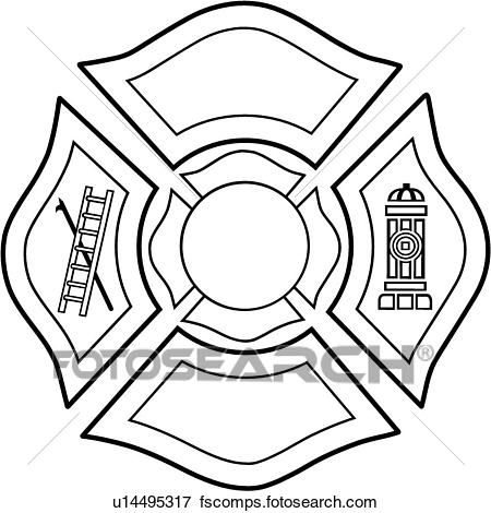450x470 Awesome Maltese Cross Clip Art