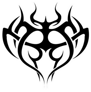 315x320 Immortal Tattoo Tribal Cross Tattoos Mean Free Expression Reigns