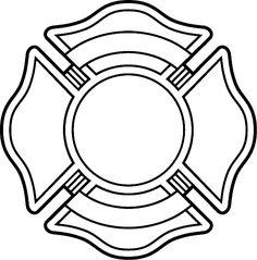 236x239 Blank Maltese Cross Template Clipart Cricut Ideas