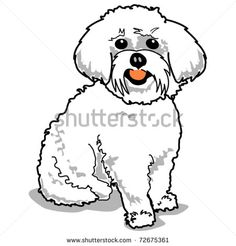 236x246 Draw A Bichon Cartoon Skitser Bichon Frise, Dog