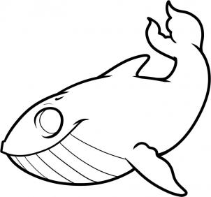 302x282 How To Draw How To Draw A Whale For Kids