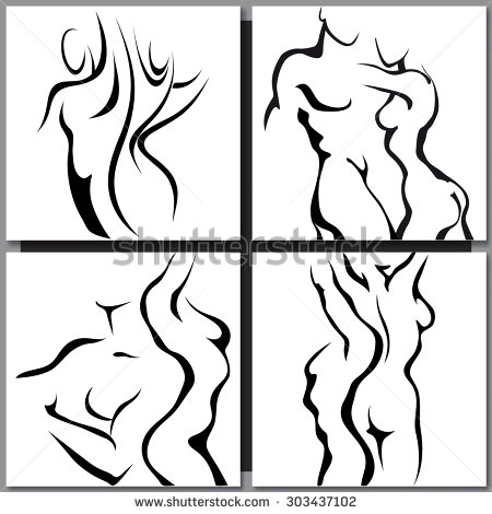 450x470 Nude Man And Woman Silhouette Stock Photos, Images, Amp Pictures