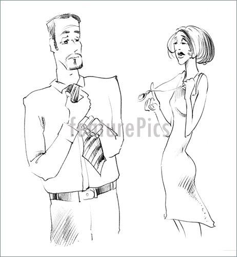 462x500 People Man And Woman Body Language