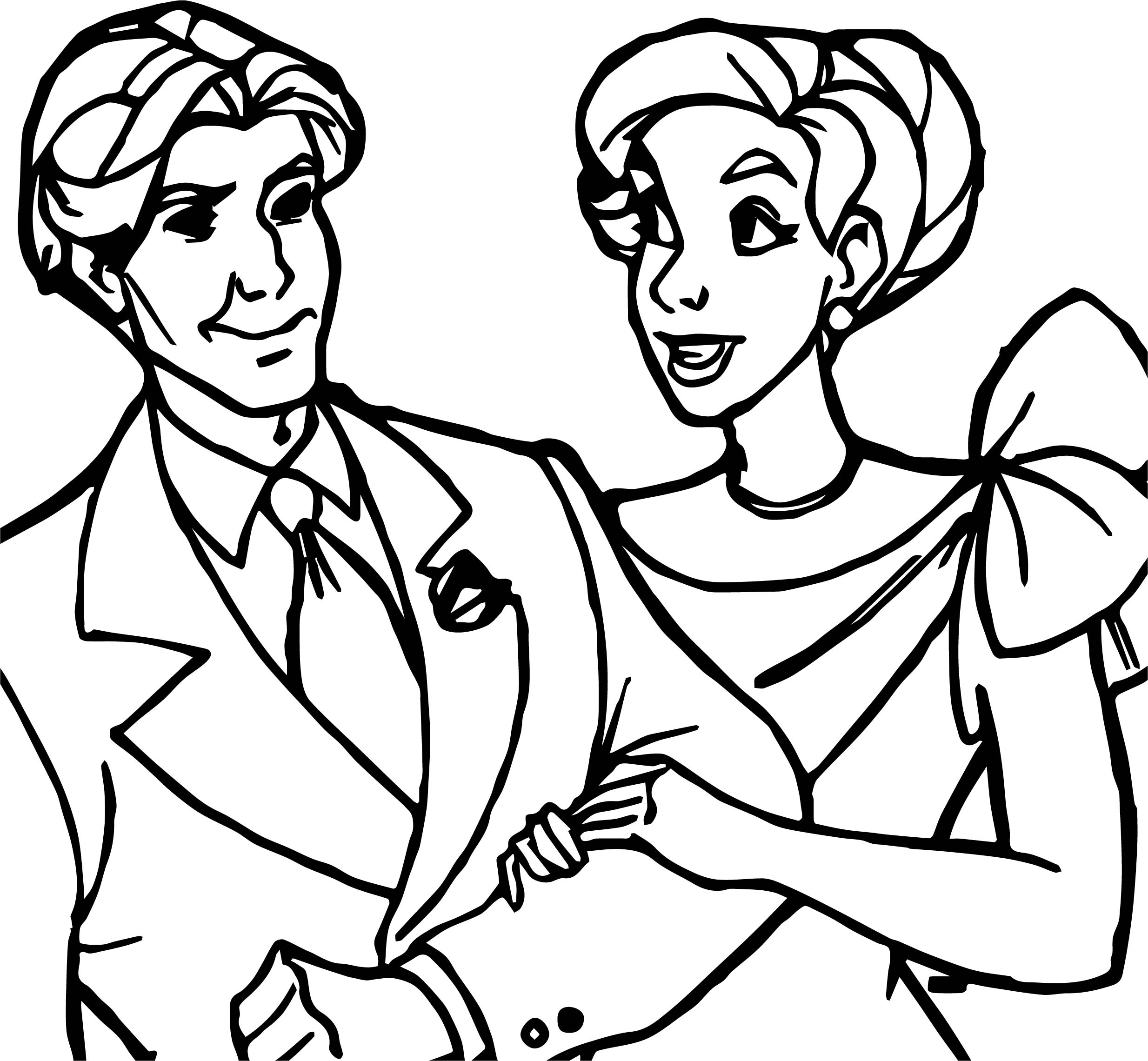 2468x2281 Anastasia Couple Man Woman Coloring Page Wecoloringpage