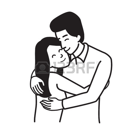 450x450 Vector Illustration Character Of Man And Woman, Lover Couple