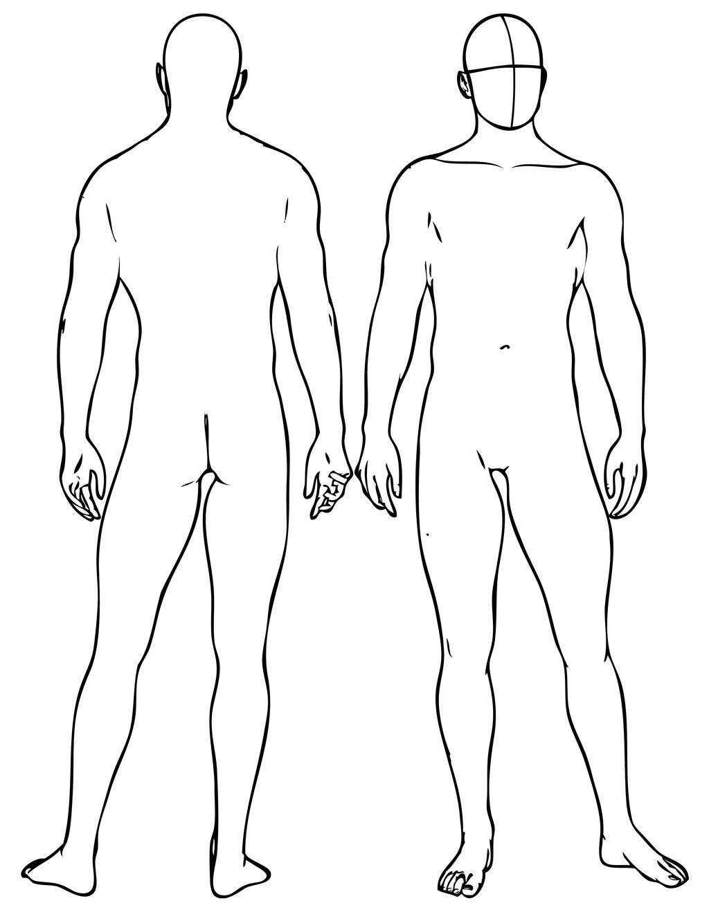 1024x1314 Male Body Drawing Base