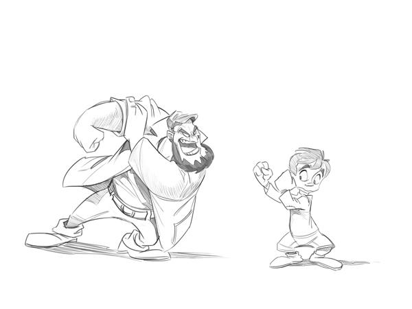 600x450 Cartoon Fundamentals How To Draw A Cartoon Body Cartoon