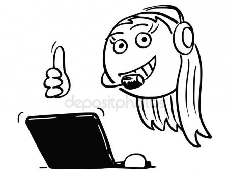 450x344 Thumb up bald man cartoon drawing 2 — Stock Vector © tawesit@gmail