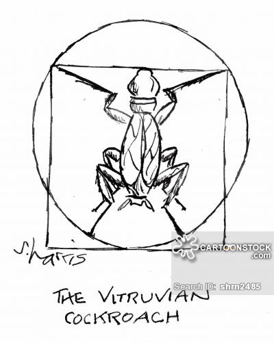 400x501 Vitruvian Man Cartoons and Comics