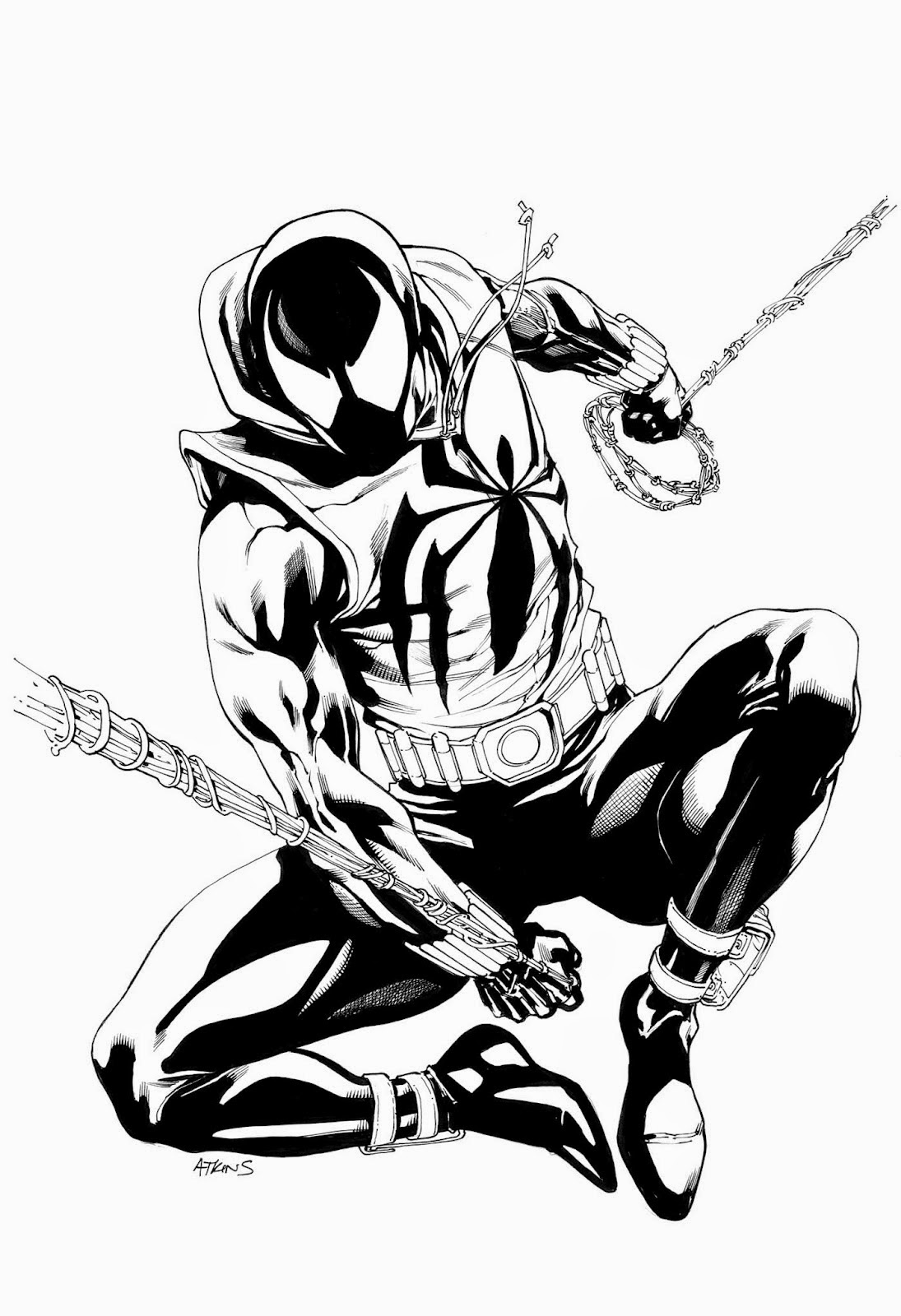 1095x1600 My Useless Art Scarlet Spider Man Drawing