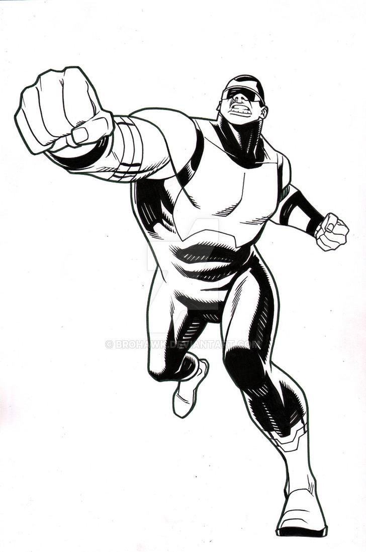 728x1098 Ultimate Spider Man Episode 8 Power Man By Brohawk