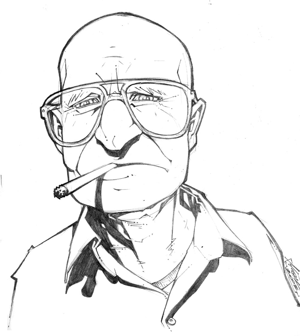1000x1120 Old Cigarette Man By Micahjgunnell