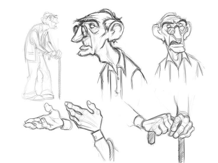 736x551 Image result for old character design ÏÅÐÑÎÍÀÆÈ Pinterest