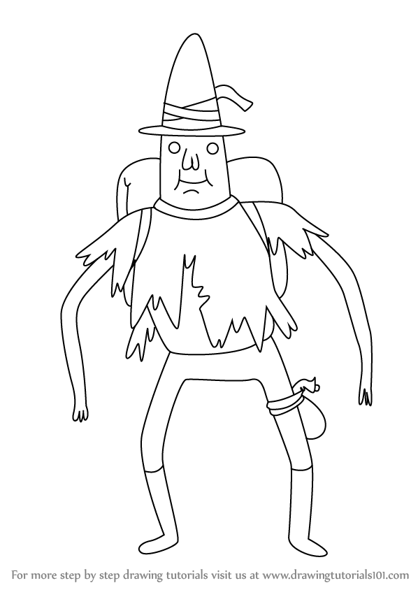 598x844 Learn How To Draw Magic Man From Adventure Time (Adventure Time
