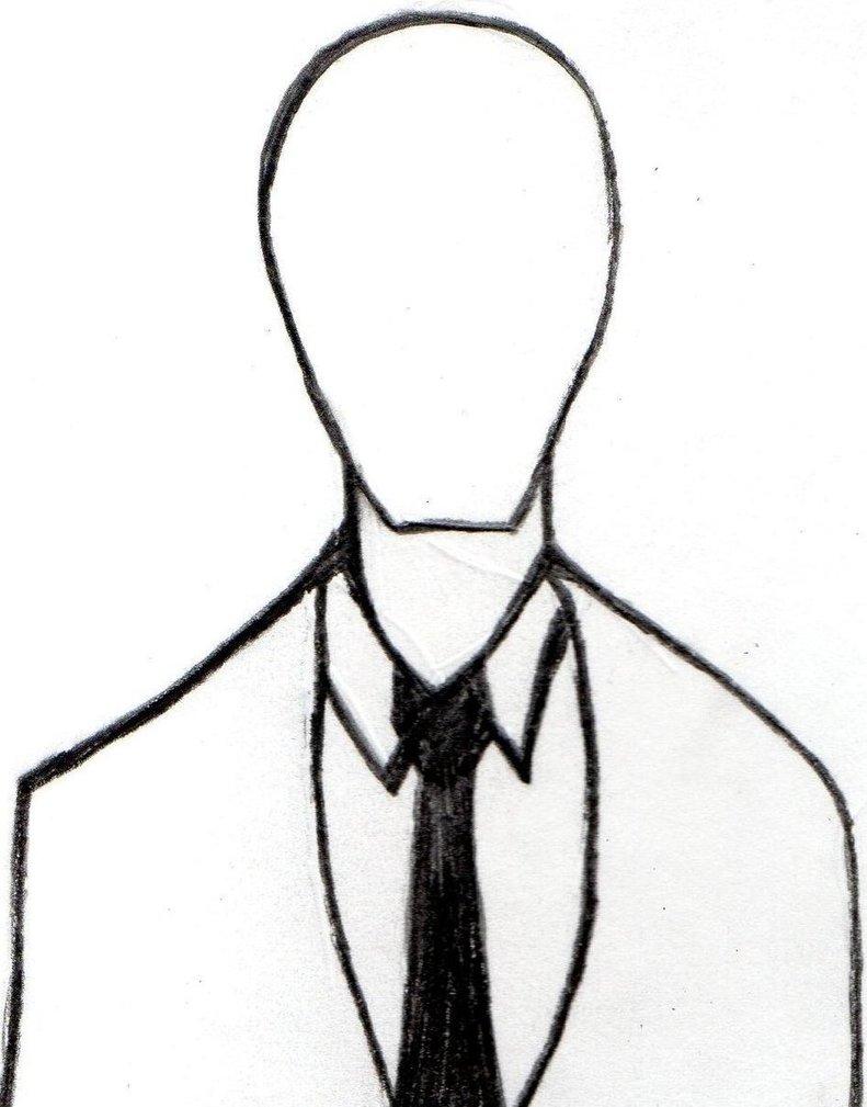 791x1009 Slenderman (Bust) 3 By Creepypastaiscreepy