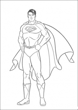 257x360 How To Draw An Outline Of Superman Man Of Steel