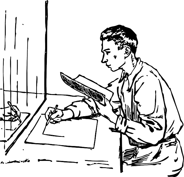 640x617 Outline, Drawing, People, Man, Person, Draw, Sitting
