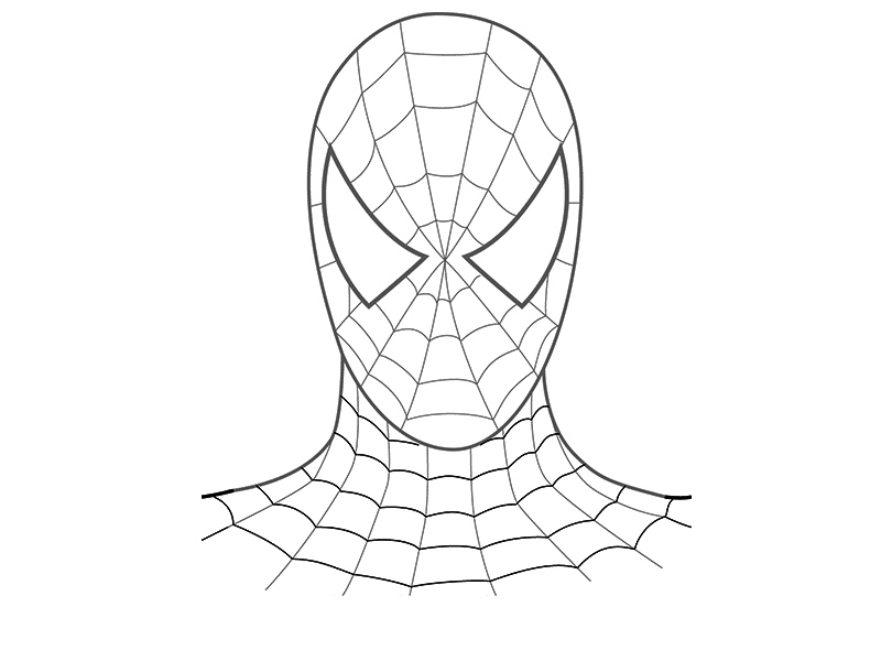 800x600 How To Draw A Spider Man In Stages With A Pencil For Beginners