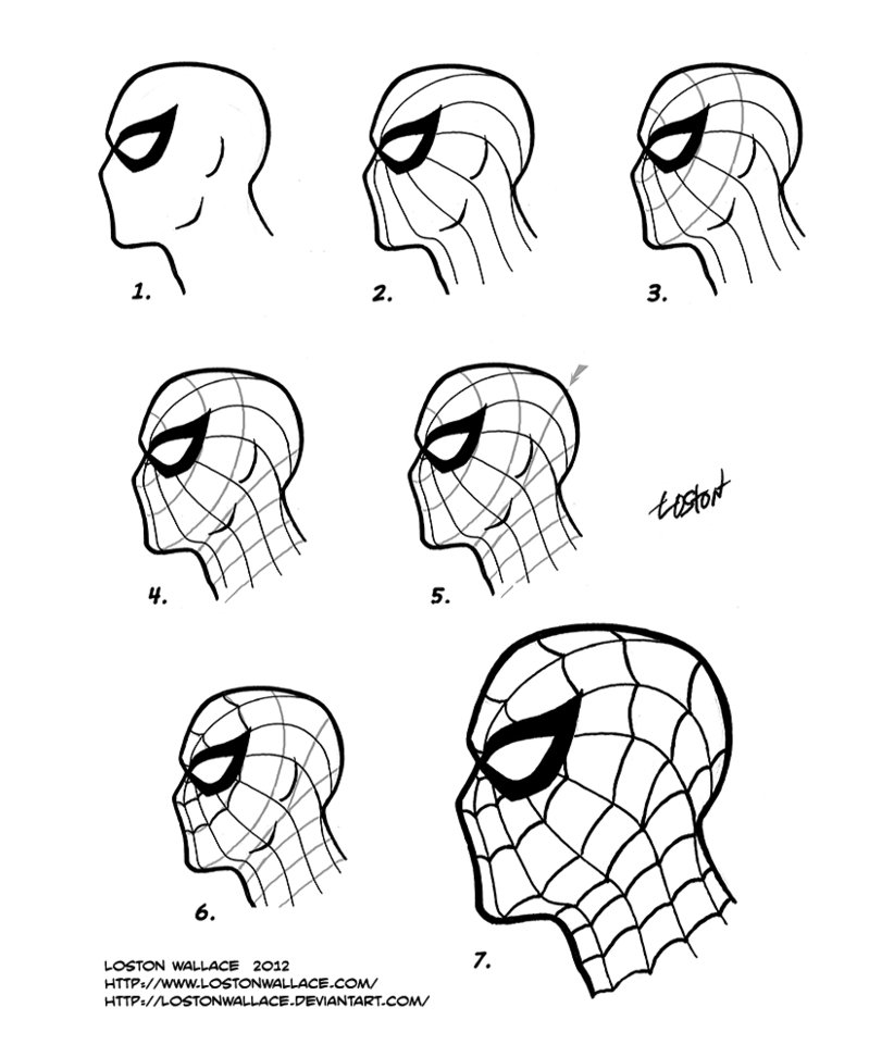 822x972 Spider Man Mask Tutorial By Lostonwallace