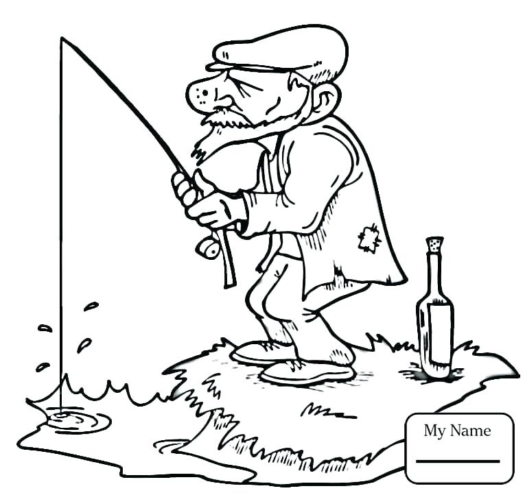 765x722 Fisherman Coloring Pages Coloring Coloring Pages For The Tale