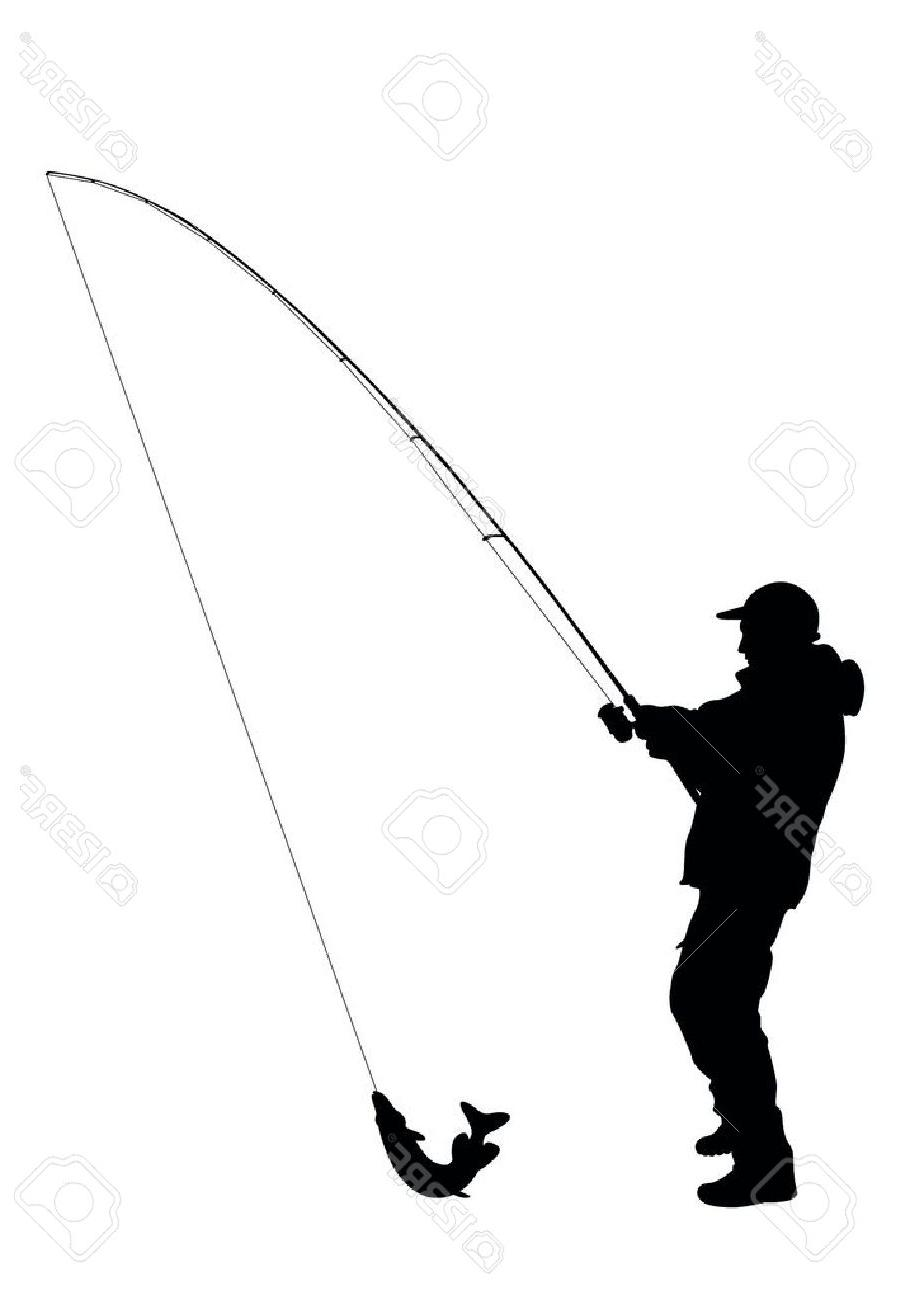 A man with a fishing rod 24