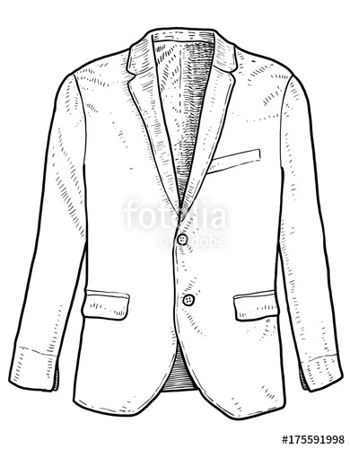 390x500 Man Suit Illustration, Drawing, Engraving, Ink, Line Art, Vector