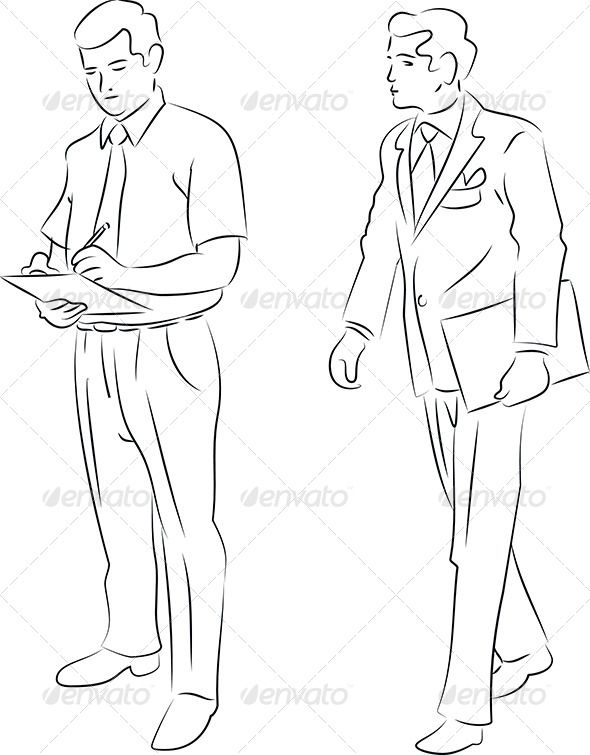 590x755 54 Best Men Silhouette Images On Fashion Drawings