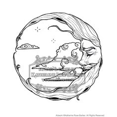 236x236 Moon And Stars Coloring Pages Moon Coloring Page Woodshop