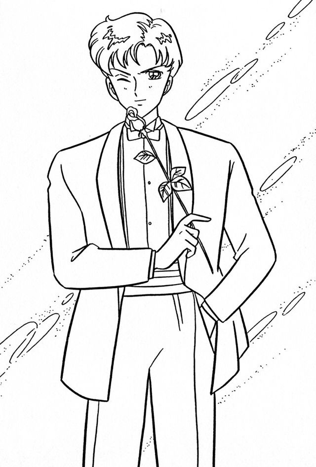 tuxcedo mask coloring pages | Man In Tuxedo Drawing at GetDrawings.com | Free for ...